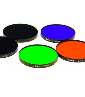 Set filtre fotometrice BVRI 50mm Custom Scientific