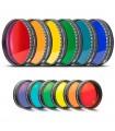 Set 6 filtre colorate Luna si Planete - Baader Planetarium