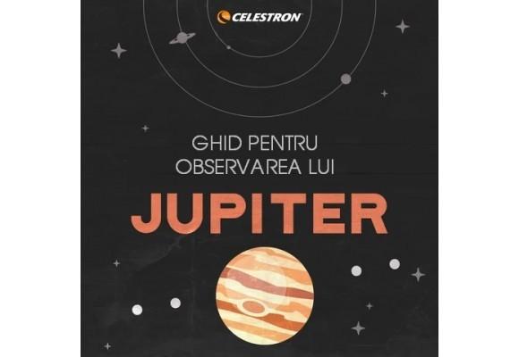 JUPITER - ghid de observare a planetei Jupiter