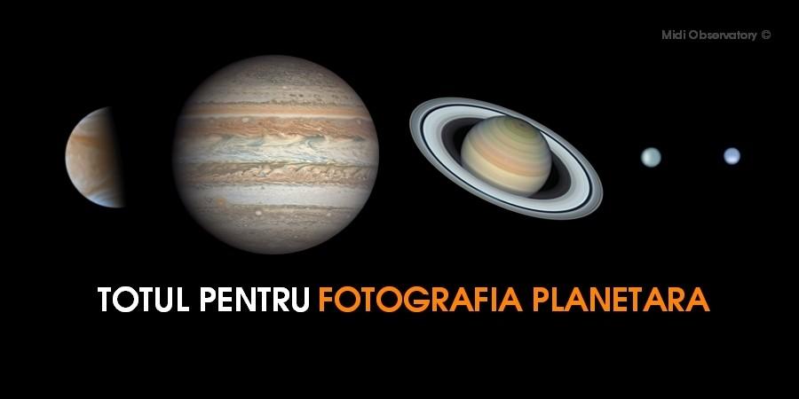 FOTOGRAFIA PLANETARA - CAMERE CCD CAMERE CMOS