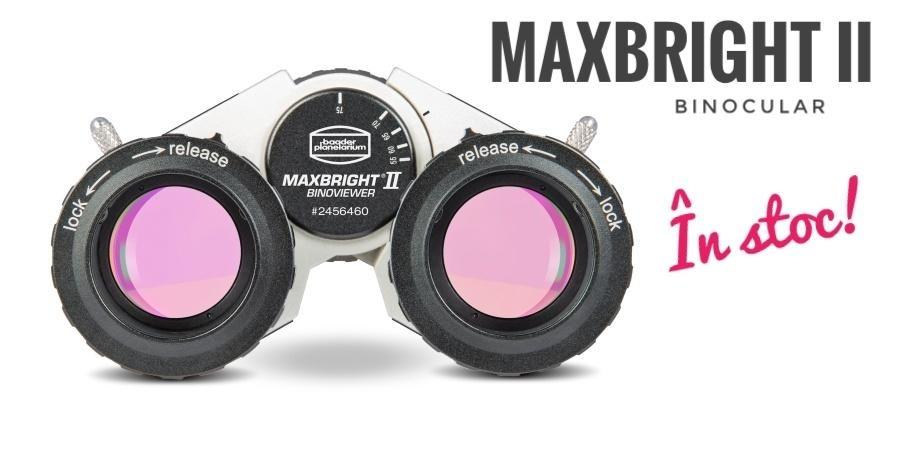 Binocular MAXBRIGHT 2 pentru telescoape astronomice