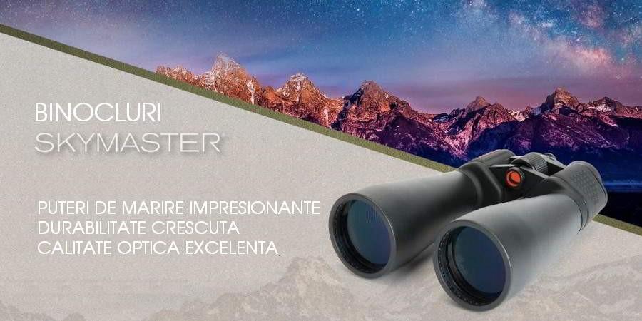 Binoclu astronomic SKYMASTER de mare putere,  pentru observarea cerului